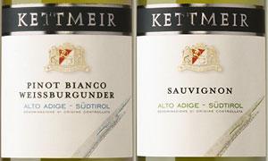 Pinot Blanc e Sauvignon Kettmeir