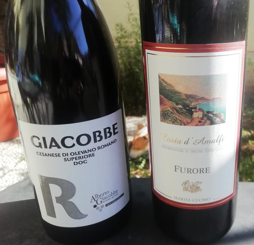 Due ottimi vini per le costolette d'agnello